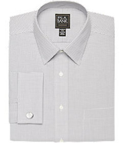 Traveler Collection Tailored Fit Dress Shirt CLEAR