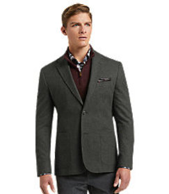 1905 Collection Tailored Fit Houndstooth Casual Ja
