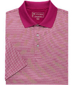 David Leadbetter Traditional Fit Short-Sleeve Polo