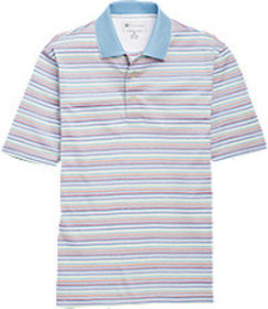 David Leadbetter Traditional Fit Stays Cool Multi-