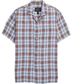 Reserve Collection Traditional Fit Plaid Campshirt