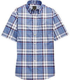 Traveler Collection Traditional Fit Button-Down Co