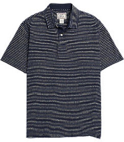 1905 Collection Tailored Fit Stripe Short Sleeve P