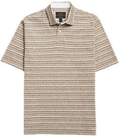 Reserve Collection Multistripe Traditional Fit Pol