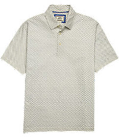 1905 Tailored Fit Anchor Pattern Short Sleeve Polo