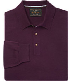 Reserve Collection Traditional Fit Polo Sweater CL