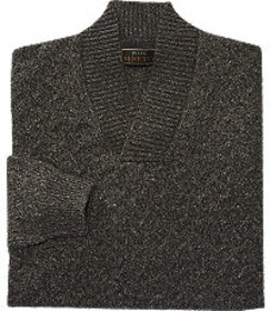Reserve Collection Split Neck Sweater - Big & Tall