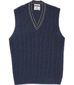 1905 Collection Cable Sweater Vest CLEARANCE