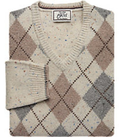 1905 Collection Traditional Fit Lambswool Argyle V