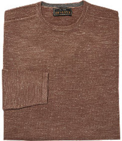 Reserve Collection Wool & Linen Crewneck Sweater B