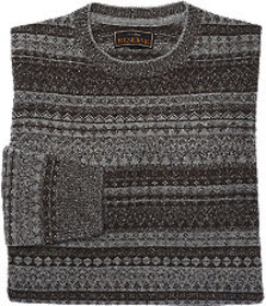 Reserve Collection Fair Isle Tailored Fit Sweater