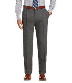 1905 Collection Tailored Fit Pleated Front Side Ta