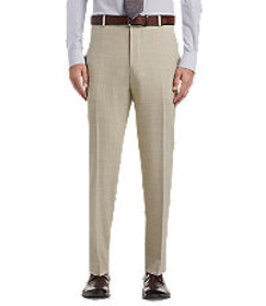 1905 Collection Tailored Fit Flat Front Dress Pant