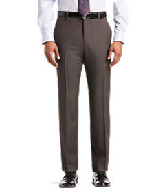 1905 Collection Tailored Fit Tic Weave Dress Pants