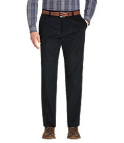 Reserve Collection Tailored Fit Flat Front Corduro