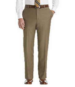 Traveler Collection Slim Fit Flat Front Dress Pant