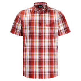 JACK WOLFSKIN Men's Hot Chili Short-Sleeve Shirt