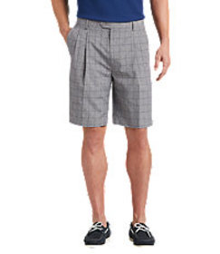 David Leadbetter Traditional Fit Pleated Front Win