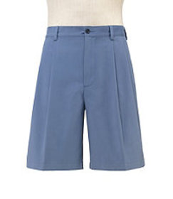 Stays Cool Traditional Fit Pleated Front Shorts CL