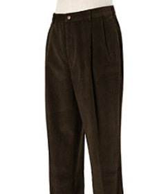 Jos. A. Bank Traditional Fit Pleated Front Corduro