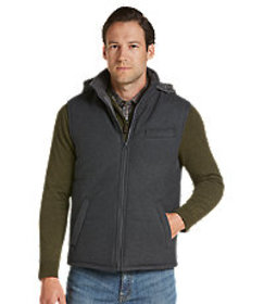 Traveler Collection Tailored Fit Quilted Vest CLEA