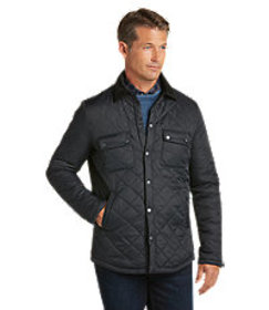 1905 Collection Tailored Fit Quilted Nylon Jacket