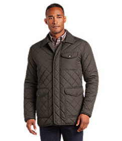 Jos. A. Bank Hampstead Traditional Fit Quilted Fie