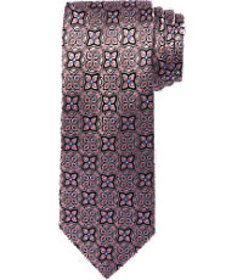 Reserve Collection Geometric Medallion Tie CLEARAN
