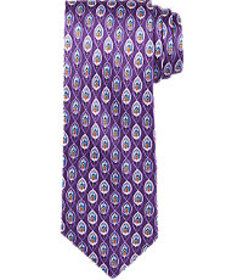 Traveler Collection Flame Printed Tie CLEARANCE