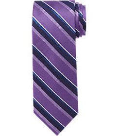 Traveler Collection Striped Tie - Long CLEARANCE