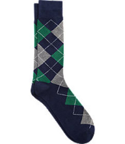 Jos. A. Bank Argyle Dress Socks, 1-Pair CLEARANCE