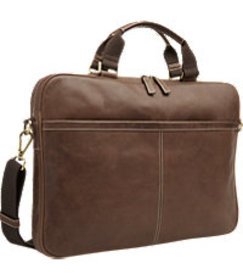 Jos. A. Bank Leather Laptop Bag CLEARANCE