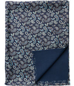 Jos. A. Bank Paisley Silk & Wool Scarf CLEARANCE
