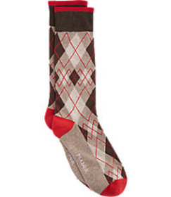 Jos. A. Bank Diamond Pattern Socks, 1-Pair CLEARAN