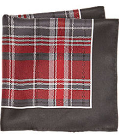 Joseph Abboud Plaid Pocket Square CLEARANCE