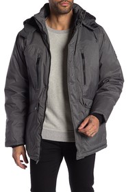 Ben Sherman Detachable Hood Parka