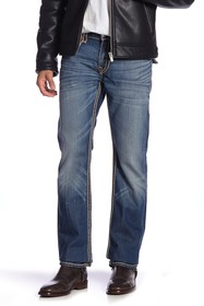 True Religion Straight Flap Rope Stitch Jeans