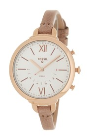 Fossil Women's Q Annette Hybrid Smart Leather Stra