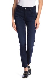 7 For All Mankind Dylan High Waist Straight Leg Je