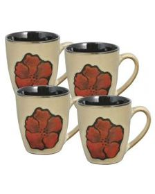 Sarina Set of 4 Mugs
