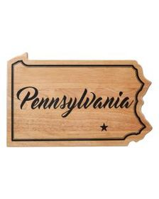 Pennsylvania State Cutting Board