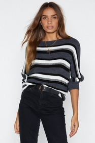 By Your Side Striped Sweater