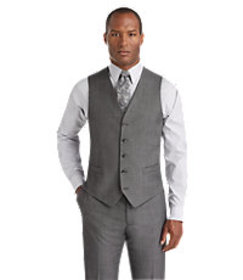 Reserve Collection Tailored Fit Suit Separate Vest