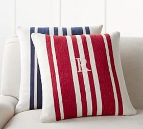 Luxembourg Stripe Pillow Cover