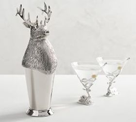 Stag Cocktail Shaker