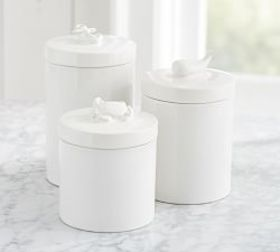 Nautical Animal Canister Accessories