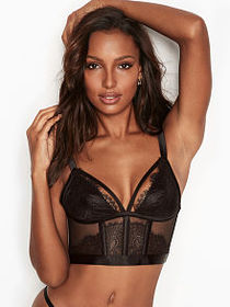 Very Sexy Strappy Lace Bustier