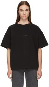 Acne Studios Black Stellie Logo T-Shirt