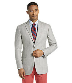 1905 Collection Tailored Fit Windowpane Sportcoat
