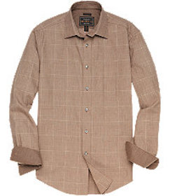 Reserve Collection Tailored Fit Spread Collar Glen
